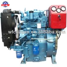 weifang fabrica motor diésel de doble cilindro de alta calidad