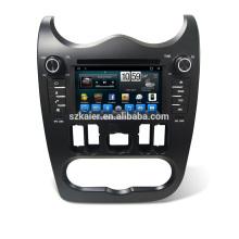 Sistema de navegación GPS del reproductor de DVD de la fábrica Android 6.0 / 7.1 para Renault Logan / Sandero / Duster 2016 2017 con MP3 BT Radio Music