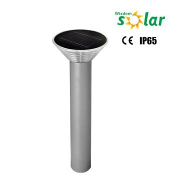 Portable patriot led éclairage CE lumière de borne solaire avec panneau solaire de 4W