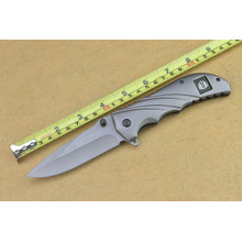 Alle Metal Steel Spring Assisted Pocket Knife