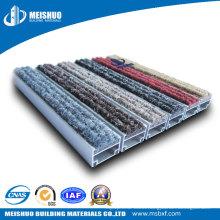 Easy Folding Aluminum Base Anti Slip Outside Floor Entrance Mat