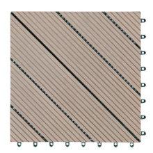 Easy-Install Outdoor WPC DIY Decking Tiles