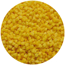 IQF Frozen yellow peach frozen fruit frozen yellow peach diced