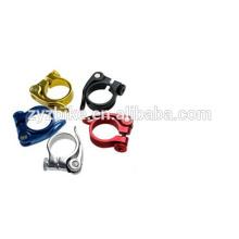 Braçadeiras de assento de liga de multi-cor braçadeira de bicicleta de estrada braçadeira 34.9mm