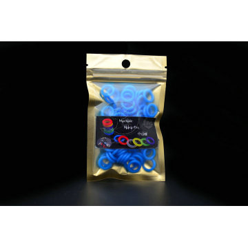 Joint torique Silicone bleu de tatouage de haute qualité