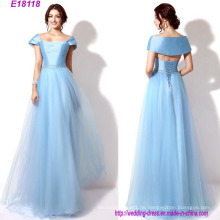 Groß-Mode-Klassiker Designs langes Abendkleid Brautjungfer Kleid