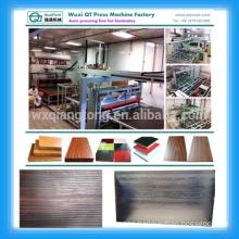 YX1600-6X8- automatic laminate pressing line/1830X2440mm automatic laminated furniture panel machine