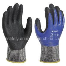 Покрытие полностью вырезать устойчивостью работы перчатку с нитриловые Dopping (ND6516)