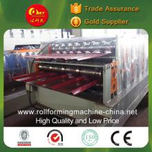 """Профилегибочная машина для производства двухслойной цветной стальной плитки для различных панелей типа """"ласточкин хвост"""""""