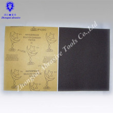 Haute qualité et bon prix 23 * 28 cm papier de verre abrasif étanche