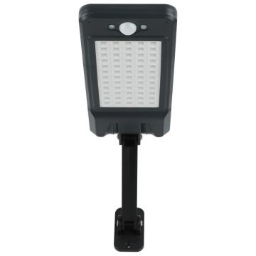 Lámpara de pared LED negra para exteriores