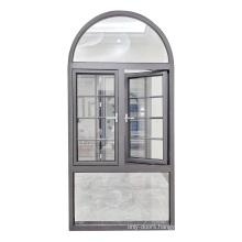 Laminated  Glass Aluminum Window Hurricane Impact  With Customized Double Glazed