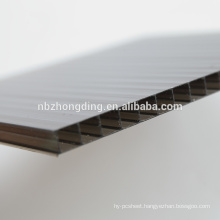 free sample 8mm colored polycarbonate hollow slab
