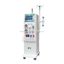 Vente directe d'usine Machine médicale d'hémodialyse / Machine de dialyse mobile Prix avec double pompe