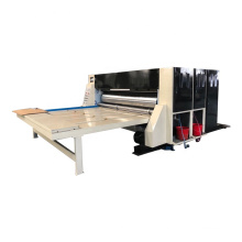 Low investment for new carton factory chain feeding flex printing slotting machine