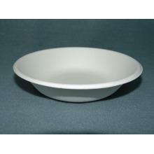 16oz/450ml Bowl (Paper Pulp Tableware) Sugarcane Pulp Tableware Plate Bowl Clamshell Biodegradable Tray