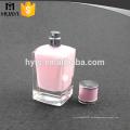 elegante botella vacía de perfume con pintura interior