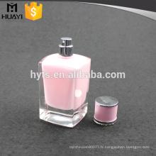 fantaisie bouteille vide de parfum avec peinture intérieure