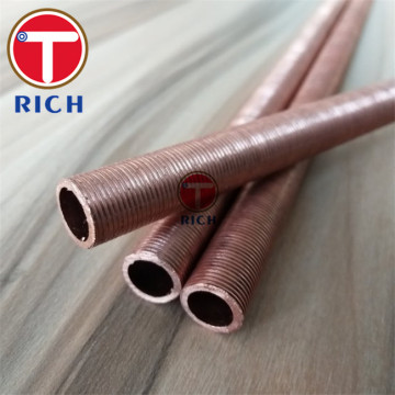 Copper Low Fin Tube for Boiler Heat Exchanger