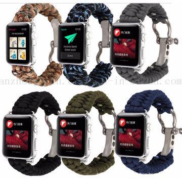 Wholesale Fashion Rope Braided Sport Nylon Bracelet Watch Strap