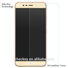 Shenzhen Precio directo de fábrica 2.5D Edge High Clear 0.33mm protector de pantalla de vidrio templado para ASUS zenfone 3 max