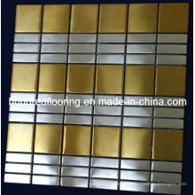 Wall Tile Stainless Steel Metal Mosaic (SM216)