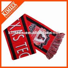 wholesale custom acrylic stretch knit scarf