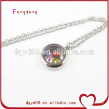 20mm stainless steel baby gifts necklace