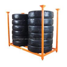 "92 ""x 40"" TBR Lkw-Reifen Stacked Storage Rack"