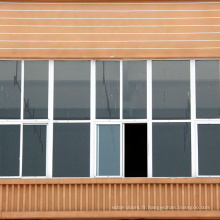 Cadre de fenêtre de profil en PVC du 21ème siècle