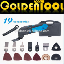 220w 19pcs Handheld elektrische vibrierende oszillierende Schneidensäge tragbare Multifunktionswerkzeuge