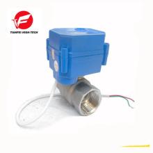 Válvula de control de flujo eléctrico CR02 ADC9-24V DN15 DN20 ss304 CWX-15N 2nm