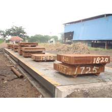 3 * 16 M Camión de pesaje electrónico de 80 toneladas Sacle