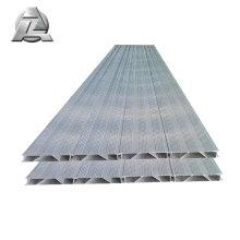 Preço de decks de pontão de alumínio antiderrapante lockdry