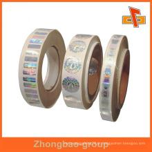 Guangzhou vendedor impressão por grosso e material de embalagem personalizado auto-adesiva disco rígido etiqueta branca