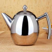Бытовая Большая Емкость 0,75 л / 1,8 л Нержавеющая Сталь Кофе Капельного Чайник Чайник Холодной Воды