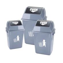 20/35/55 litro de basura al aire libre Push (YW0015)