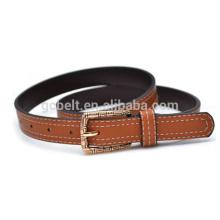 lady classical PU waist belt for dressing