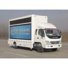 Foton mini llevó camión móvil para la venta, 4 * 2 llevó camión etapa móvil