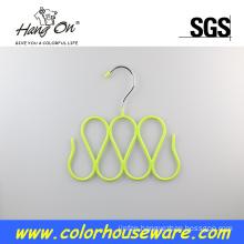 Fancy metal hanger for tie