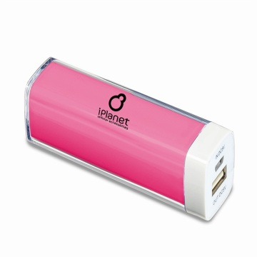 Mini barra de labios colorido caramelo 2600mAh Power Bank