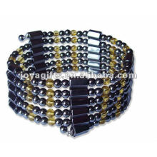 "Magnético Citrine Beaded wrap Bracelets & Necklace 36 """