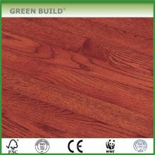 Красный Дуб твердой древесины настил Выскобленный рукой использование спортивных