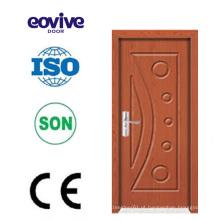 balanço de madeira de quarto interior de alta qualidade em casa usado porta de madeira do PVC