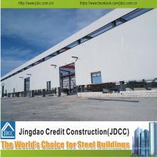 Hangar d'entrepôt de structure métallique de conception de construction