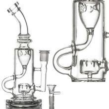 Circ Perc Incycler Wasserpfeife für Rauch mit Schüssel (ES-GB-090)