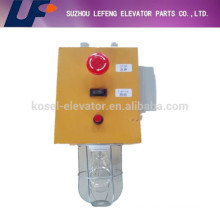 Pit inspection box, elevator parts pit inspection