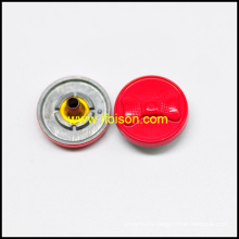 Bowknot shape Snap button in Zinc Alloy material