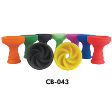 Colorful Amy Shisha Bowl Deluxe Silicone Hookah Bowl