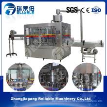 Fabricante aireado de la máquina de rellenar de la bebida del gas de la botella
